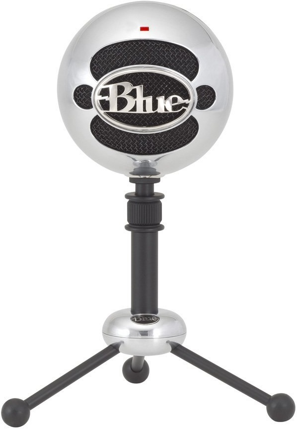 Blue Microphones Snowball USB Microphone (Brushed Aluminium) for  image
