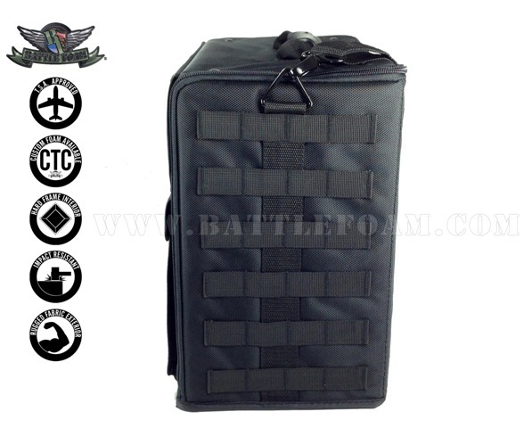 P.A.C.K. 432 Molle Horizontal Pluck Foam Load Out (Black) image