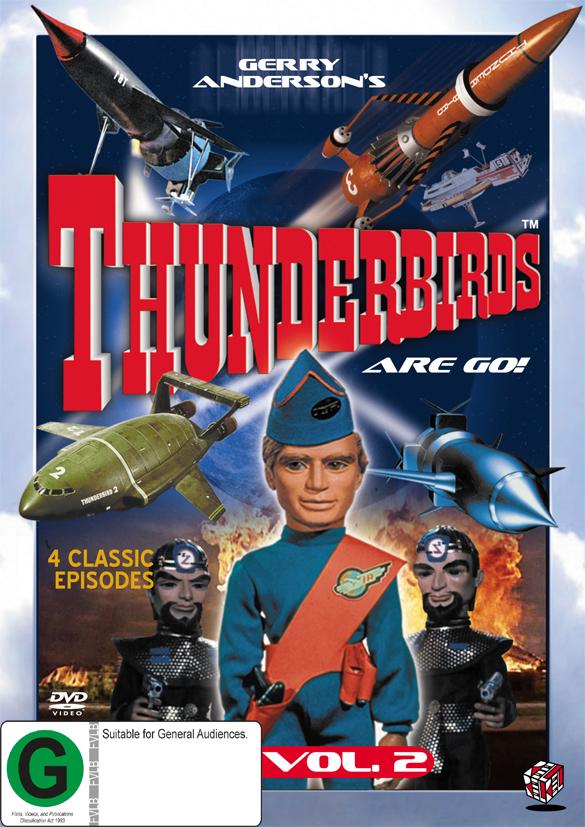 Thunderbirds Vol 2 on DVD image