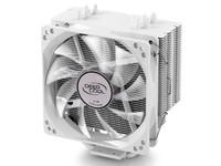Deepcool Gammaxx 400 CPU Cooler White; 4 Heatpipes; 120mm PWM LED Fan