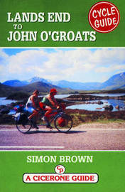 Lands End to John O'Groats Cycle Guide by Simon Brown image