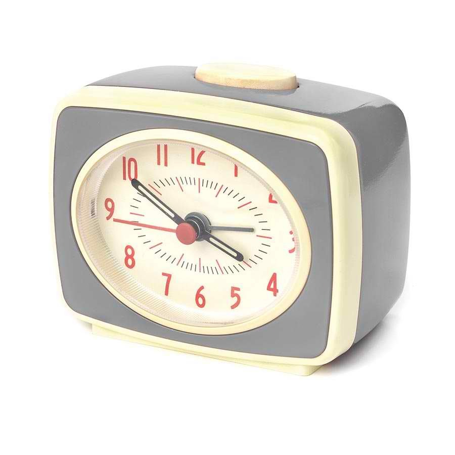 Small Classic Alarm Clock - Grey image