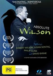 Absolute Wilson on DVD