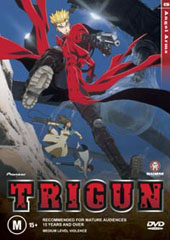Trigun - Vol. 5 on DVD