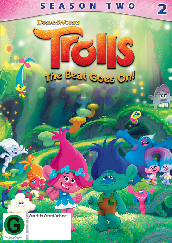 Trolls: The Beat Goes On - The Complete Second Season on DVD