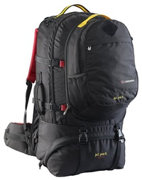 Caribee Jet Pack 65 Travel Pack (Black)