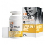 Invisible Zinc Facial Moisturiser SPF30 (50ml)