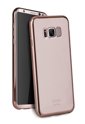Uniq Hybrid Samsung S8+ Glacier Glitz - Rose Gold image