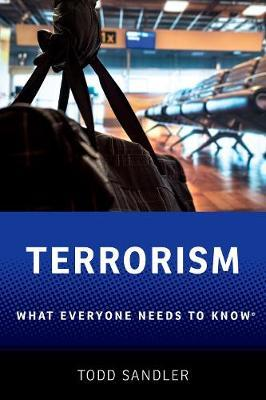 Terrorism by Todd Sandler