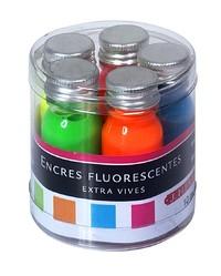 J Herbin: Inks Sampler - Fluorescent (5 Pack) image