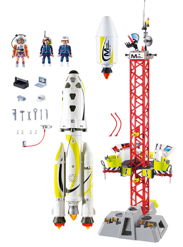 Playmobil: Space - Mission Rocket with Launch Site (9488)