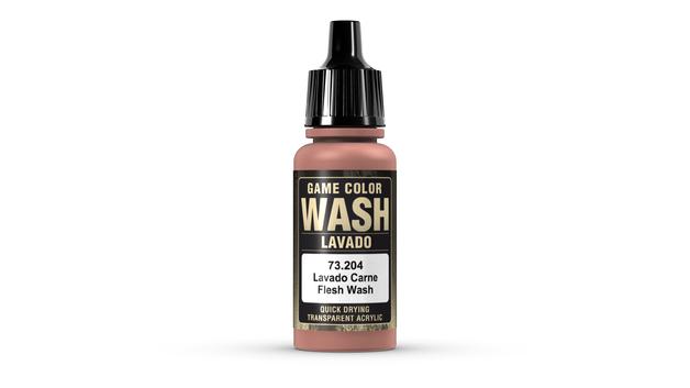 Vallejo 204 Flesh Tone Wash 17ml