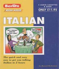 Italian Berlitz Rush Hour - Cassette Version image
