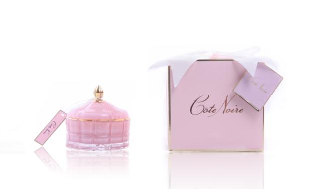 Cote Noire: Round Art Deco - Pink