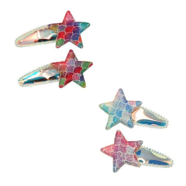 Pink Poppy: Under the Sea Star Fish Snapclips