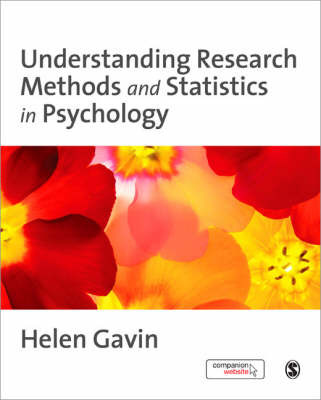 Understanding Research Methods and Statistics in Psychology by Helen Gavin image