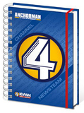 Anchorman Channel 4 News Team A5 Notebook