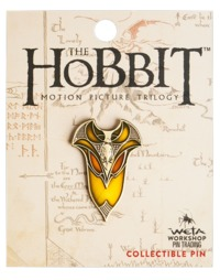 The Hobbit Elven Shield Collectible Pin