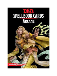 D&D: Spellbook Cards: Arcane Deck (253 Cards)