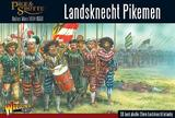 Pike & Shotte Landsknechts Pikemen