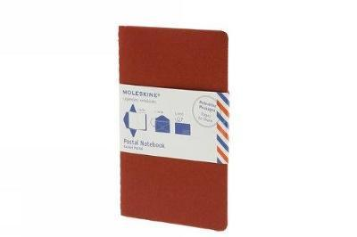 Moleskine Medium Postal Notebook - Cranberry Red