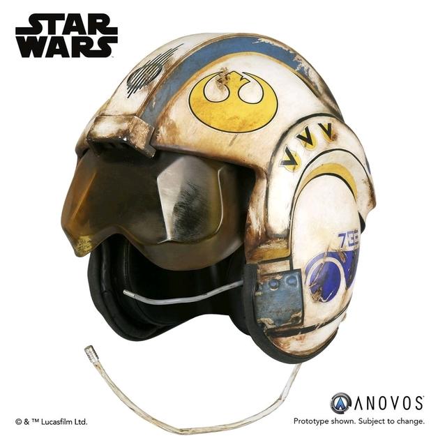 Star Wars: Rey's Salvaged X-Wing Helmet - Prop Replica