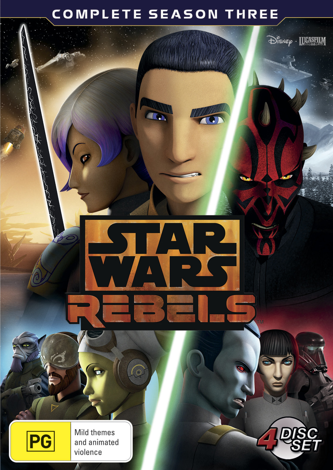 Star Wars: Rebels - Season 3 on DVD image