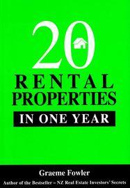 20 Rental Properties in One Year by Graeme Fowler image