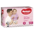 Huggies: Ultra Dry Girl Nappies - Size 5 (64 Pack)