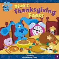 Blues Thanksgiving Feast Blu by Lissy 8x8 Paperback image