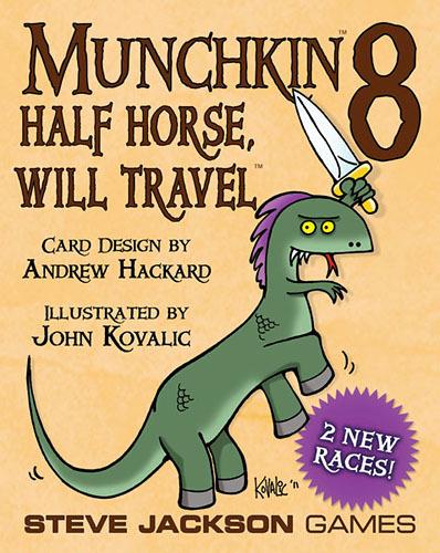 Munchkin 8 - Half Horse Will Travel image