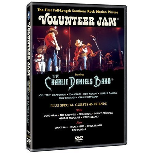 Volunteer Jam - Starring The Charlie Daniels Band on DVD