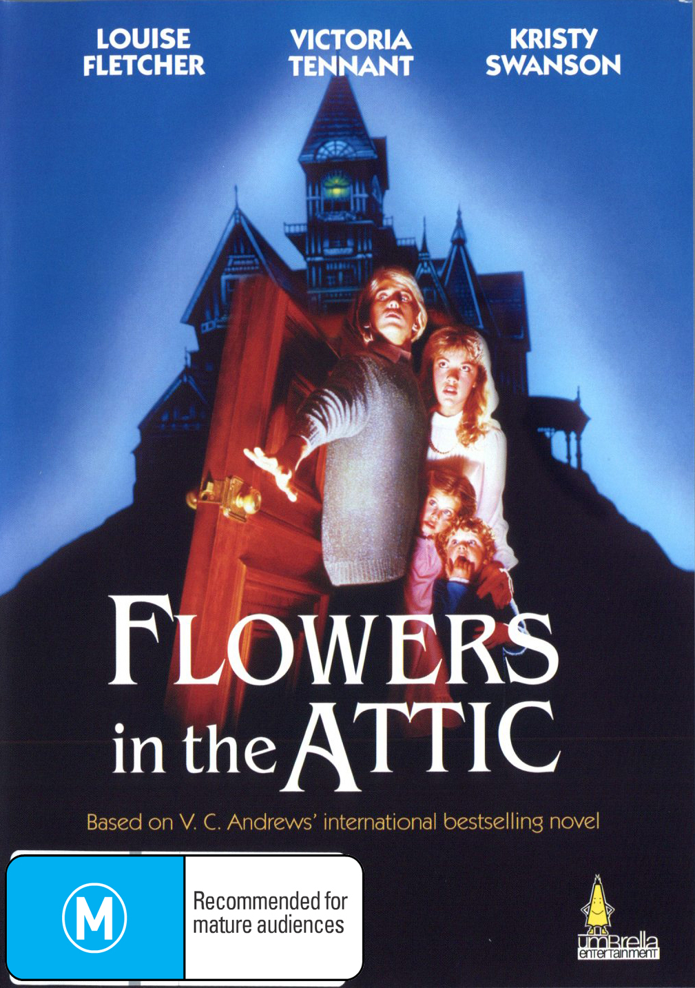 Flowers in the Attic on DVD image