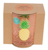 Tropical Summer: Glass Tumbler - Orange