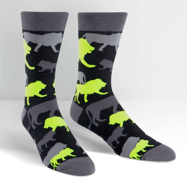 SOCK it to Me: Mens - Camo Of Kings Crew Socks
