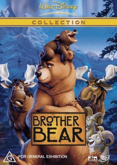 Brother Bear on DVD image