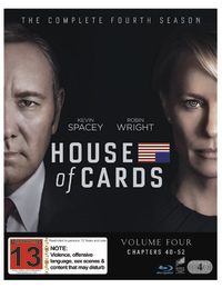 House Of Cards - Season 4 on Blu-ray