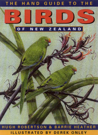Hand Guide to the Birds of New Zealand by Heather Barrie image