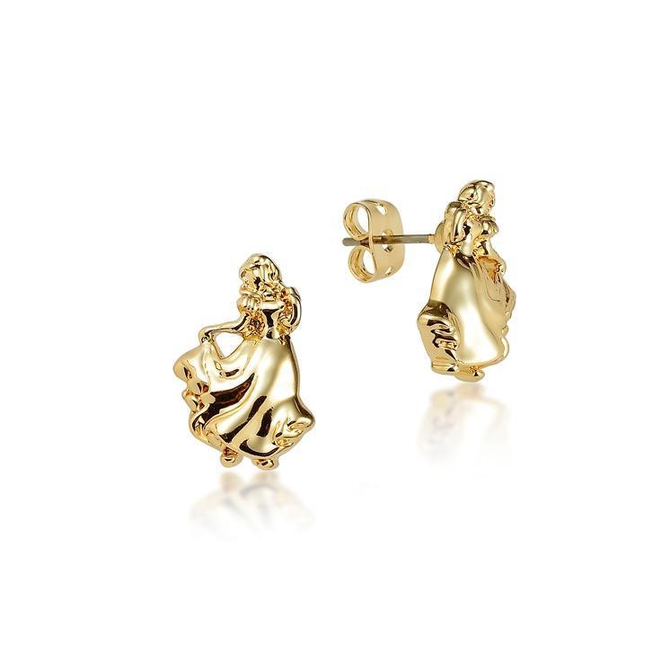Couture Kingdom: Disney - Princess Snow White Stud Earrings (Yellow Gold) image