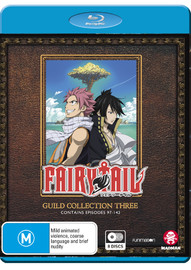 Fairy Tail - Guild Collection 3 (Eps 97-142) on Blu-ray