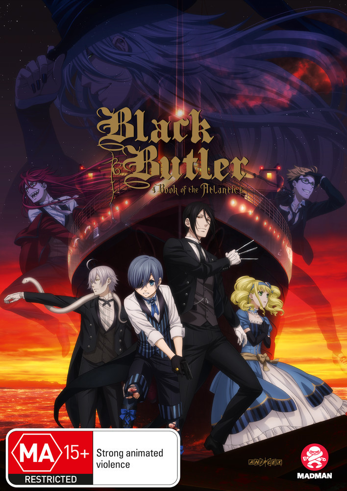 Black Butler: Book Of The Atlantic on DVD image
