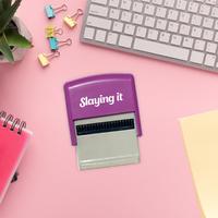 Bubblegum Stuff: Millennial Self Inking Stamp - Slaying It