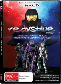 Red vs. Blue - Season Nine: Project Freelancer on DVD