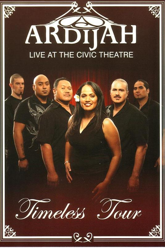 Ardijah: Timeless Tour - Live at the Civic Theatre on DVD