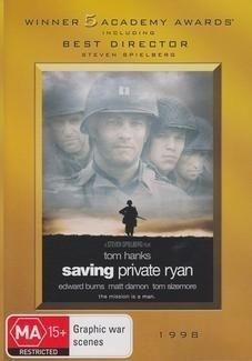 Saving Private Ryan on DVD