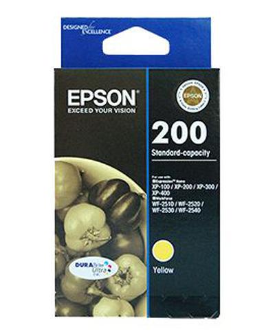 Epson Ink Cartridge - 200 (Yellow)