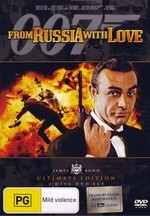 007: From Russia With Love on DVD