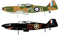 Airfix 1:72 Boulon Paul Defiant MK1 - Model Kit image