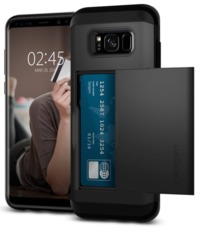Spigen Galaxy S8 Slim Armor CS Case Black image