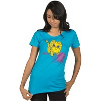 Minecraft Ocelot Kitten Women's Tee (Large)